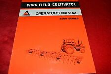 Allis Chalmers 710 Model Wing Plow Operator's Manual WGOH Older Cover