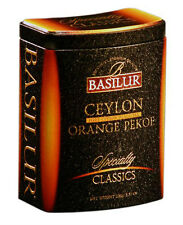 Basilur-ceylan orange pekoe décaféiné-loose thé noir - 100G-tin caddy