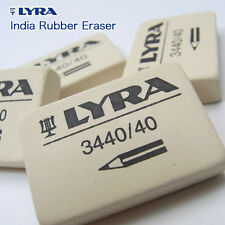 LYRA SCHOOL RUBBER ERASER - SOFT GRADE PENCIL ERASER GERMAN MADE Pack of 1