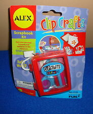 Clip Crafts Scrapbook Kit Keychain by Basic Fun NIP