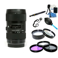 Sigma 18-35mm f/1.8 DC HSM Lens for Canon LENS BUNDLE! Brand New!