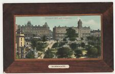 Harrogate, Prospect Hill and Crescent, A & G Taylor Orthochrome Postcard, B324