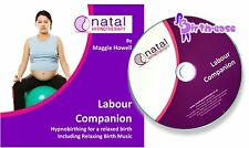 Natal Hypnotherapy Labour Companion CD (hypnobirthing) with Relaxing Birth Music