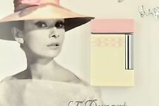 NEW ST Dupont Line 8 Limited Edition Audrey Hepburn Pink & White Lacquer Lighter