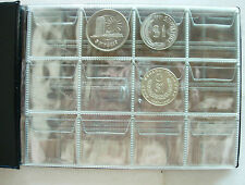 PCCB Coin Holder Album 120 pockets For 5 Ringgit TAR coin and smaller (20X15cm).