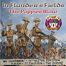 ** In Flanders Fields - The Poppies Blow** -  *NEW* - LOYALIST/ULSTER/ORANGE CD