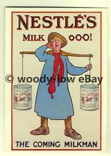 ad3805 - Nestle's Milk - Swiss Milk - Milkman - Modern Advert Postcard