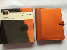 Filofax A5 Graphic orange