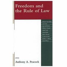 Freedom and the Rule of Law (2009, Hardcover)