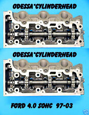 PAIR FORD EXPLORER MOUNTAINEER 4.0 SOHC 97-06 V6 CYLINDER HEADS REBUILT