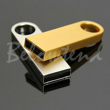64GB Metal USB Flash Memory Drive Stick Pen Thumb Key Cute U Disk GOLD