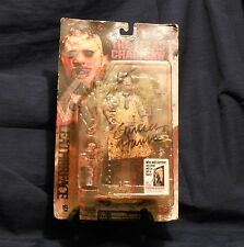 McFarlane Toys Movie Maniacs: Series 1 - Leatherface Action Figure (autographed)