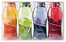 Essenza 4-Pack Body Wash Shower / Liquid Soap with Shea Butter & Vitamin E