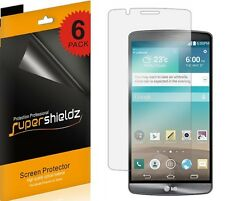 6X Supershieldz Anti Glare (Matte) Screen Protector Shield Guard Cover For LG G3