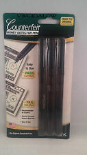 Dri Mark Smart Money Counterfeit Bill Detector Pen Brand NEW 3 Pack