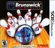 Brunswick Pro Bowling 3DS New Nintendo 3DS