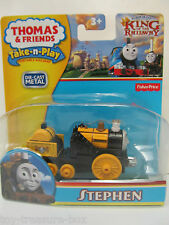 "Thomas & Friends King of the Railway ""STEPHEN"" Die-Cast Metal Vehicle - Ages 3+"