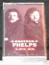 Brother Phelps Let Go 11 Track CASSETTE TAPE NEW!