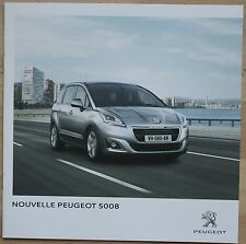 Catalogue Nouvelle Peugeot 5008 - France - Novembre 2013 - 28p