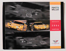 Corvette C-5R 2004 Cadillac CTS-V Sports Car Racing Pratt & Miller yearbook