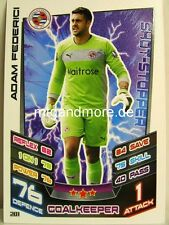 Match Attax 2012/13 Premier League - #201 Adam Federici - Reading