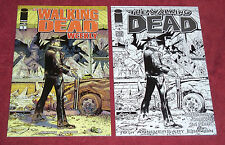 The Walking Dead Weekly #1 NYCC Black & White Variant 10th Anniversary HTF RARE