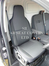 TO FIT A VW TRANSPORTER T5 VAN 2005, SEAT COVER, ROSSINI EBONY BLACK - DRIVER'S