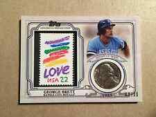 2016 Topps World Champion Coin and Stamps Nickel George Brett