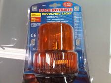 Luce Lampeggiante Rotante magnetica arancione trattori muletti mezzi agricoli