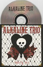 Alkaline Trio - Mercy Me - Scarce UK 1 track promo CD