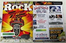 CLASSIC ROCK + CD Sept 2016 ZZ TOP ELIMINATOR Free BOOK Alice Cooper STEELY DAN