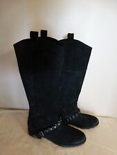 NWB Belle By Sigerson Morrison Women's BLACK Lyle Anthropologie Boots SIZE 8
