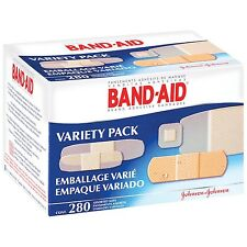 Johnson Band Aid Variety Refill for First Aid Kit 280 Assorted Bandages