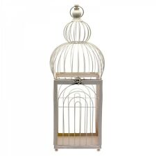Large Cream Bird Cage Wedding Table Centrepiece Floral Displays 68cm EF