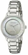 AUTHENTIC CITIZEN WOMEN'S CIRCLE OF TIME DIAMOND ECO-DRIVE WATCH EM0380-81N