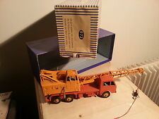 "dinky super toys  camion-grue  ""coles"" n972 avec sa boite"