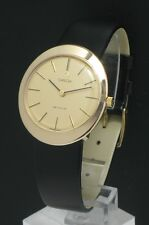 STUNNING SOLID 9CT GOLD LARGE CASE OMEGA DE VILLE WATCH C1968