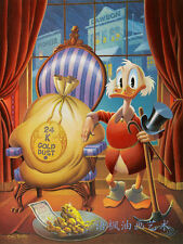 HD Print Oil painting Wall Art on Canvas, J592 Donald Duck 12x16inch Unframed