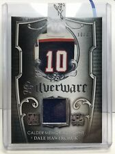 Dale Hawerchuk 2016 Leaf / In The Game Enshrined Silverware GU Jersey #'d 10/35