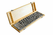 """LONG 18"""" AUGER BITS - 18 inch Shank Drill Bit Set with wood case - 6 pieces"""