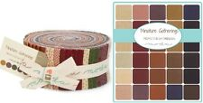 MINIATURE GATHERINGS - Moda Fabric Jelly Roll by Primitive Gatherings