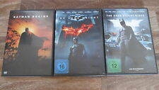 Batman - The Dark Knight Trilogy (Christrian Bale) / 3-DVDs / #13104