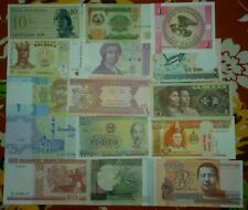 15 DIFFERENT CURRENCY OF 15 DIFFERENT COUNTRY ~~ CONDITION : UNC