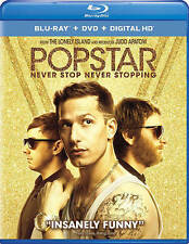 Popstar: Never Stop Never Stopping (Blu-ray/DVD, 2016, 2-Disc Set)