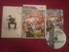 NINTENDO Wii SUPER SMASHBROS BRAWL DISC ONLY PAL UK
