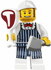 LEGO Series 6 Collectable Minifigure Minifig BUTCHER 8827 NEW UNSEALED