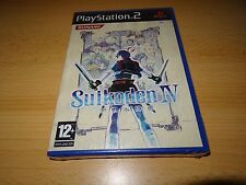 NEW FACTORY SEALED SUIKODEN IV 4 PLAYSTATION 2 PS2 SONY