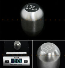 FOR SUBARU IMPREZA WRX STI GB BRZ 15.4OZ STEEL 6 SPEED HEAVY WEIGHTED SHIFT KNOB
