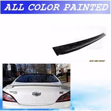ALL COLOR PAINTED K-STYLE ROOF SPOILER for 2014 15 HYUNDAI GENESIS COUPE