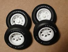 AMT MPC Vintage Trans-am Racing, 4 Wide Minilite Rims/w C-Cap Resin (ML1)